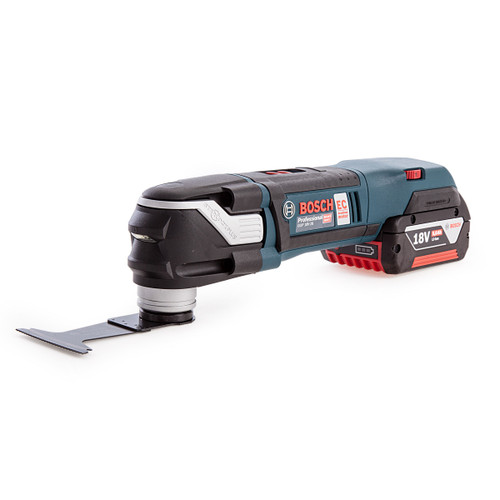 Bosch GOP18V-28 Brushless Professional Multi Cutter with Gedore 26 Piece Accessory Set in L-BOXX (2 x 5.0Ah Batteries) - 6