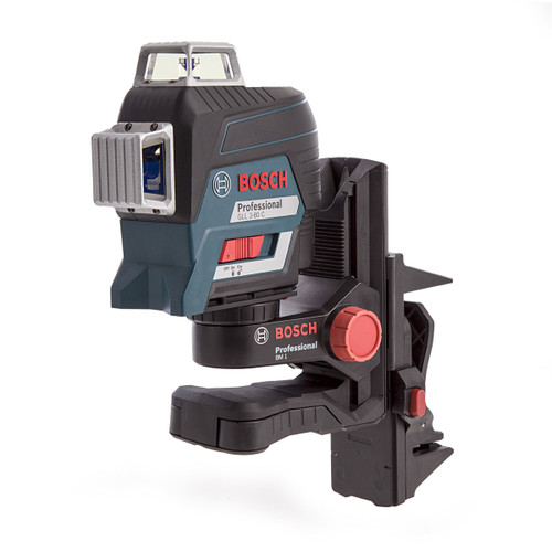 Bosch GLL380-C Professional Red Beam Plane Laser with Gedore 26 Piece Accessory Set in L-BOXX (1 x 2.0Ah Battery) - 6
