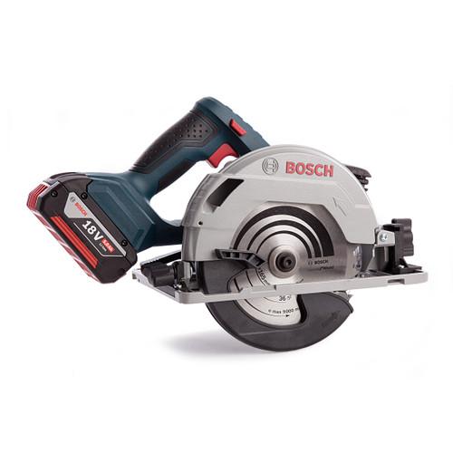 Bosch GKS18V57G Professional Cordless Circular Saw (3 x 5.0Ah Batteries) - 5