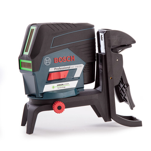 Bosch GCL250CGB Green Laser 12V with Mount and USB in L-Boxx (2 x 2Ah Batts) - 3