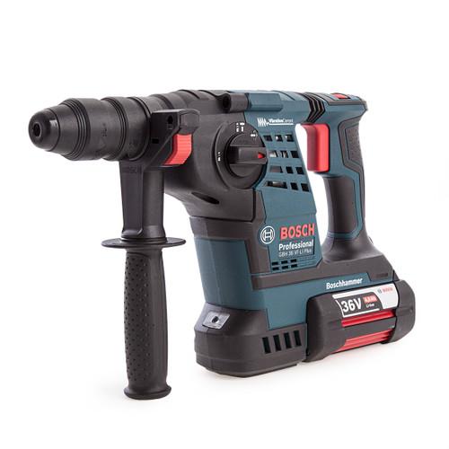 Bosch GBH36VF-LIP2 SDS Plus Hammer Kit (2 x 4.0Ah Batteries) - 6