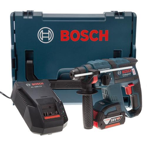 Bosch GBH18V-EC 18V Brushless SDS Plus Rotary Hammer Drill (1 x 5.0Ah Battery) - 4