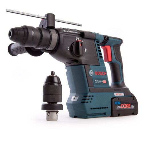 Bosch GBH 18V-26 F Brushless Heavy Duty Rotary Hammer (1 x 7.0Ah ProCORE Battery) - 3