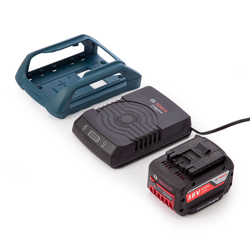 Bosch GBA184WSET Wireless Charging Starter Set with 1 x 4Ah Battery, Charger and Docking Frame - 3