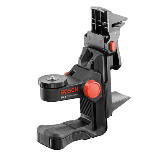 Buy Bosch BM1 Professional Wall Mount with Ceiling Clamp For Use With Bosch GLL Lasers at Toolstop