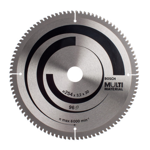 Bosch 2608640451 Circular Saw Blade For Mitre Cuts 254mm x 30mm x 96T - 4