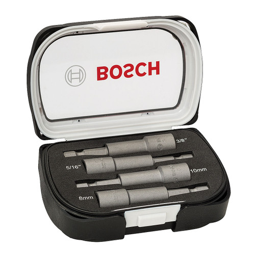 Bosch 2608551087 Nutsetter Set Metric and Imperial Magnetic 4 Pieces - 2