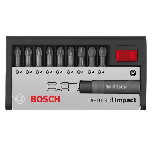 Buy Bosch 2608522065 Diamond Impact Screwdriver Bit Set (10 Piece) at Toolstop