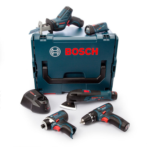 Bosch 108GSBGDRFIVE 10.8V 5 Piece Kit (3 x 2.0Ah Batteries) - 4