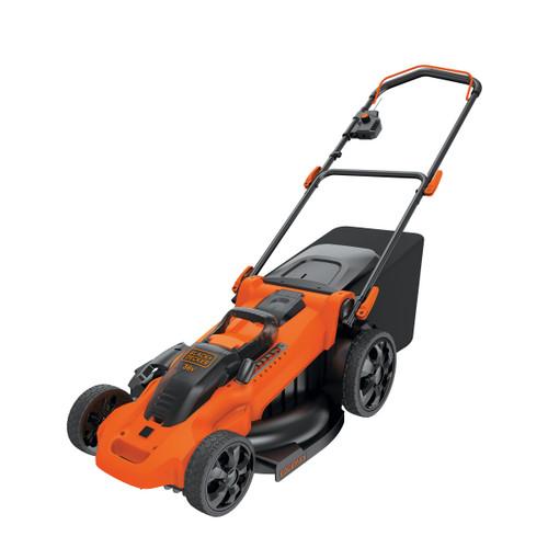 Black + Decker CLMA4820L2-GB 36V Cordless Autosense Lawnmower (2 x 2AH Batteries)  - 6