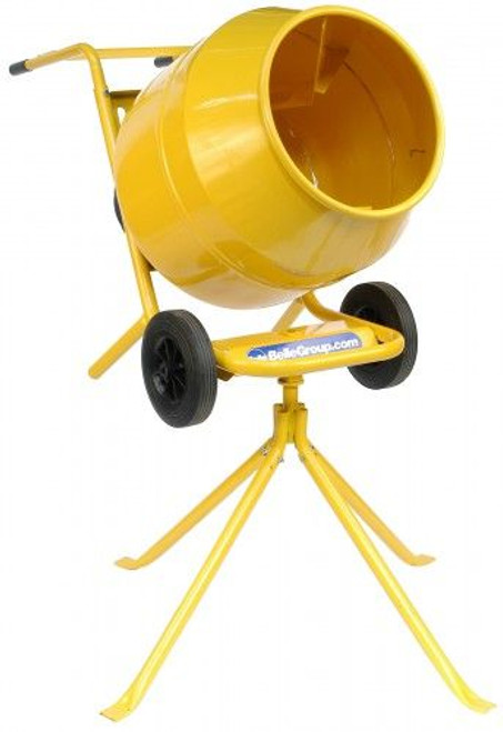 Buy Belle Minimix 140 Half Bag Cement Mixer C/W Stand 240V at Toolstop