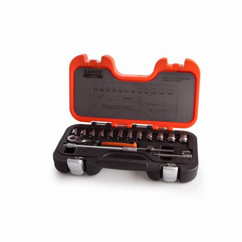 Bahco S160AF 1/4in Socket Set - 2