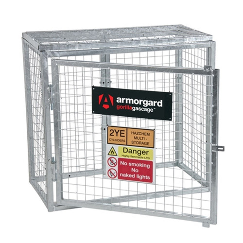 Buy Armorgard GGC1 Gorilla Bolt Together Gas Cage 1000 x 500 x 900mm at Toolstop