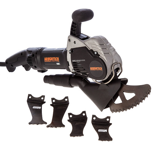 Buy Arbortech AS170-HJ Allsaw Brick & Mortar Saw with Kitbag and 3 Blades 110V at Toolstop