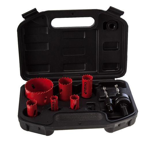 Abracs Electricians Holesaw Kit (11 Piece) - 2