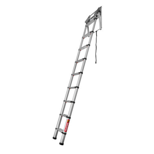 "Telesteps 60324 Loft Line ""Mini"" Telescopic Loft Ladder (2.35 - 2.45m Ceiling Height) - 5"