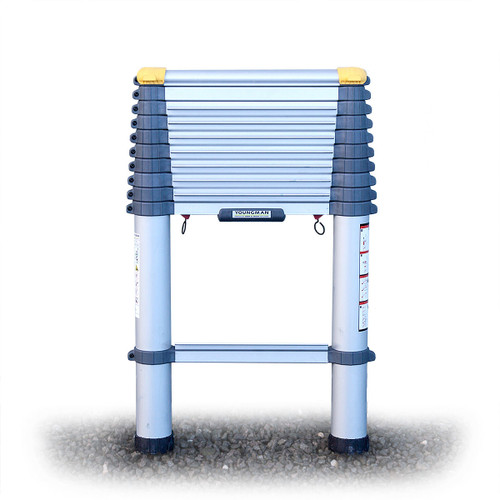 Youngman 301133 Telescopic Ladder Aluminium 3.22 Metres / 10.7 Feet - 6