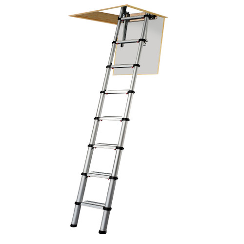Youngman 301000 Telescopic Loft Ladder Aluminium 2.6 Metres / 8.53 Feet - 4