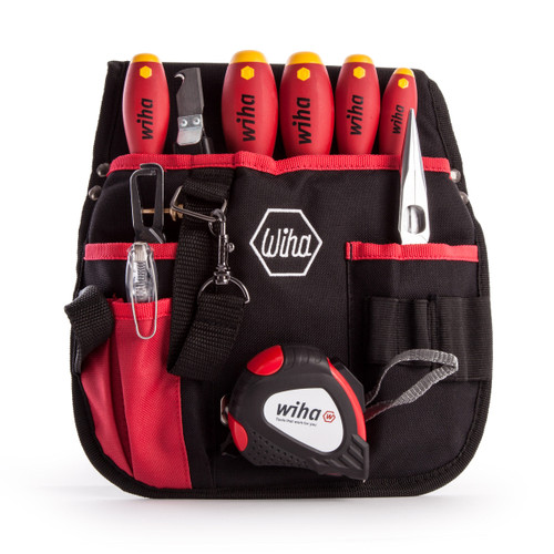 Wiha 40948 Electricians Tool Set in Belt Pouch 10 Piece - 2