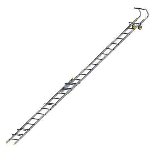 Werner 77103 Double Section Extending Roof Ladder (4.2m) - 1