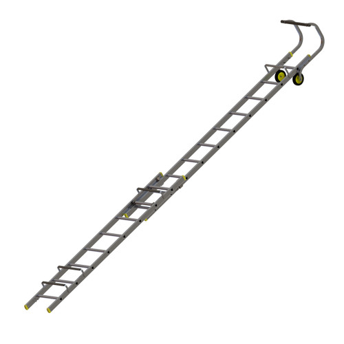 Werner 77101 Double Section Extending Roof Ladder (3.1m) - 1