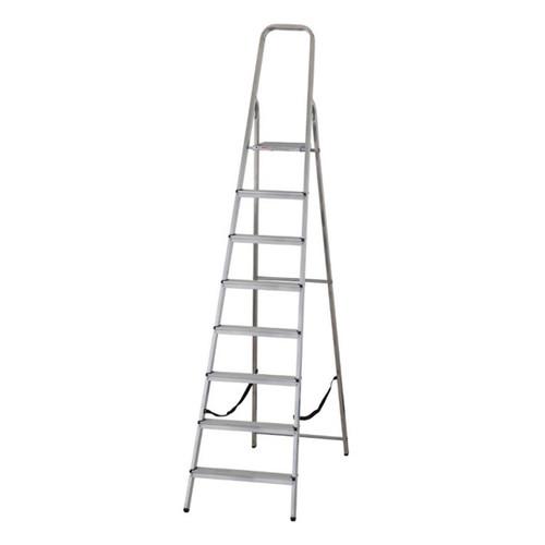 Buy Werner 74008 High Handrail Stepladder 8 Tread (1.75m) at Toolstop