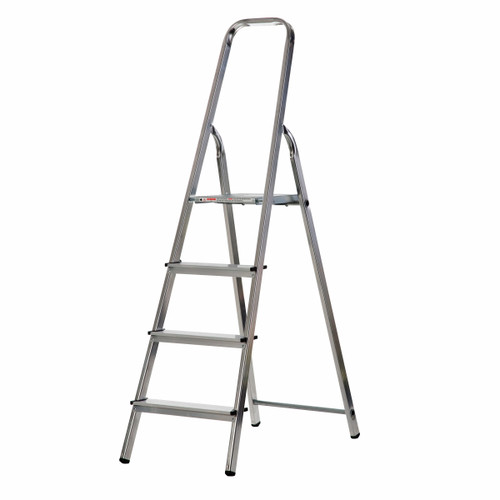 Buy Werner 74004 High Handrail Stepladder 4 Tread (0.8m) at Toolstop