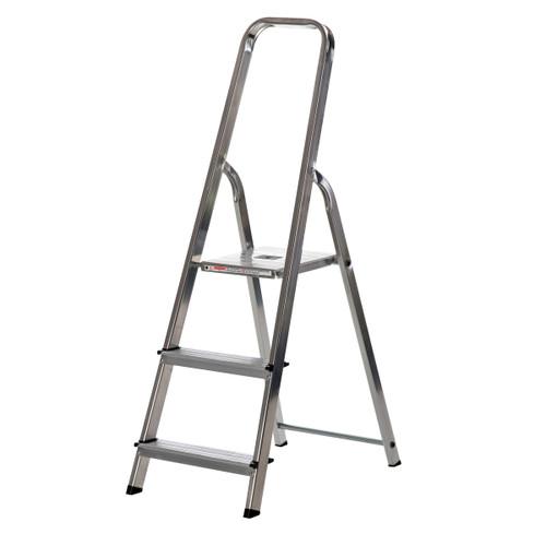 Buy Werner 74003 High Handrail Stepladder 3 Tread (0.58m) at Toolstop