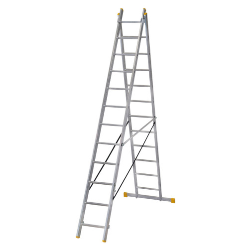 Werner 72435 Double Box Section ExtensionPLUS X3 Ladder (3.53m) - 5