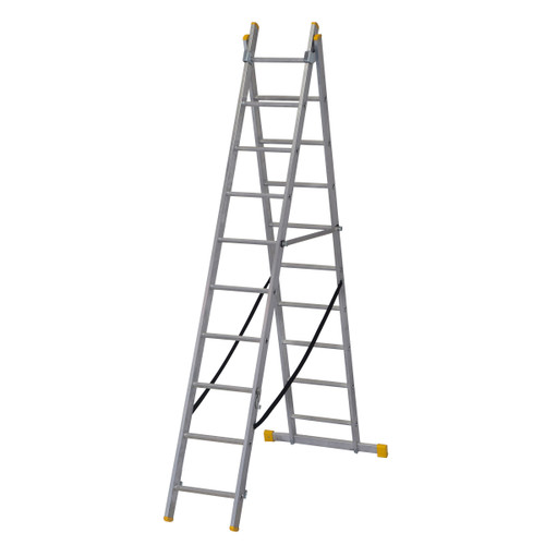 Werner 72429 Double Box Section ExtensionPLUS X3 Ladder (2.97m) - 5