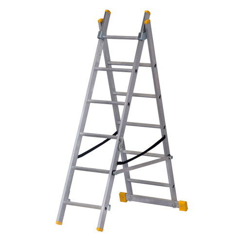 Werner 72424 Double Box Section ExtensionPLUS X3 Ladder (2.41m) - 5