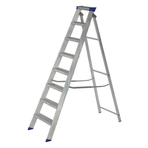 Werner 71408 MasterTrade Swingback Stepladder 8 Tread (1.75m) - 3