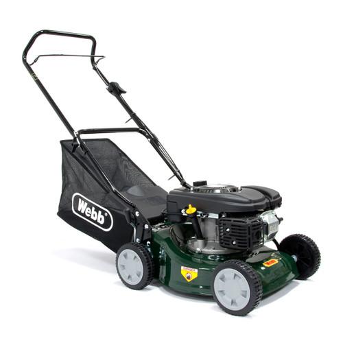 Webb R41HP Lawnmower Rotary Push 4 Stroke Petrol 41cm / 16 Inch - 6