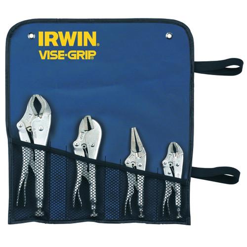 Buy Visegrip Irwin T71 Locking Plier Set of 4 Models 10CR, 7R, 6LN, 5WR at Toolstop