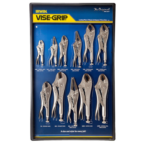 Visegrip Locking Plier Set 11 Piece with Wall Organiser - 3