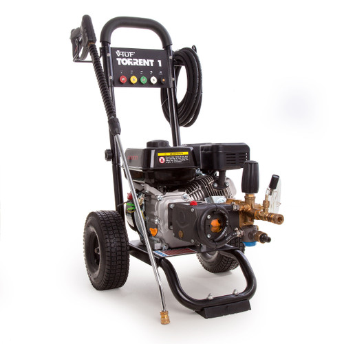 V-TUF TORRENT1 Industrial Petrol Pressure Washer Trolley Mounted 7HP 2500psi  - 4