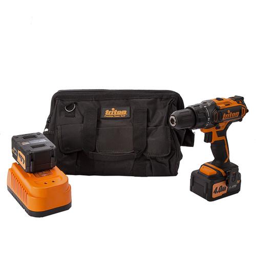 Triton T20DD 20V Cordless Drill Driver  (2 x 4.0Ah Batteries) (104544) - 3