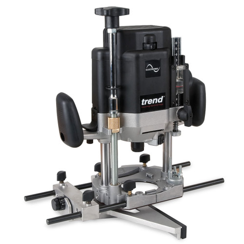 Trend Router T11ELK 2000W 1/2in Variable Speed Workshop Router 110V - 4