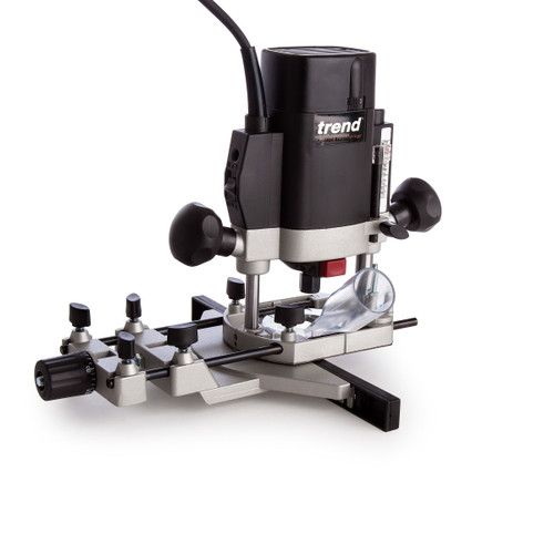 Trend Router T5EB 1/4 Inch Variable Speed Router 1000W 240V - 5