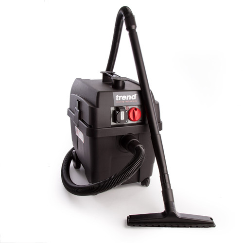 Trend T35A Dust Extractor M Class Medium Duty Wet and Dry 1400W 240V - 3