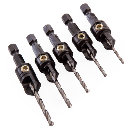Trend SNAP/CS/SET 5 Piece Drill Countersink Set - 2