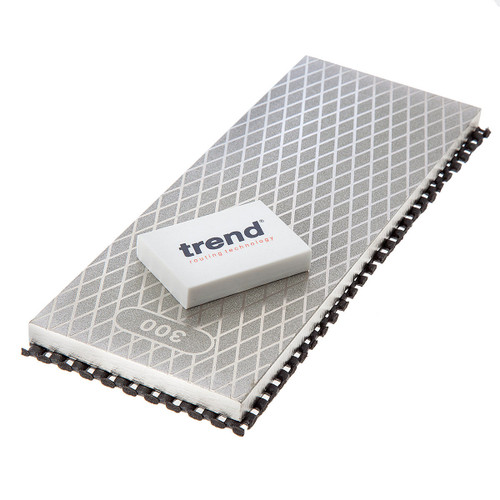 Trend DWS/CP8/FC Double Sided Diamond Whetstone 8 Inch