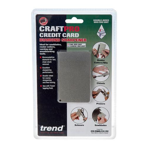 Trend Diamond Sharpening CR/DWS/CC/FC Craftpro Credit Card Sharpening Stone - 1