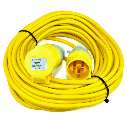 Toolstop 14 Metre Extension Lead with 1.5mm Cable 110V - 1