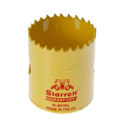 Starrett FCH0196 Bi-Metal Fast Cut Holesaw 1 9/16in / 40mm - 1