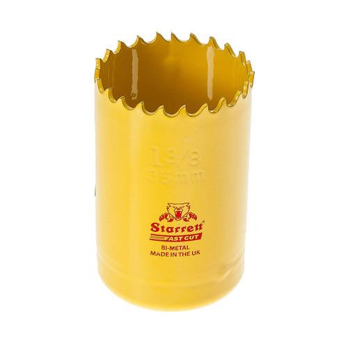 Starrett FCH0138 Bi-Metal Fast Cut Holesaw 1 3/8in / 35mm - 1
