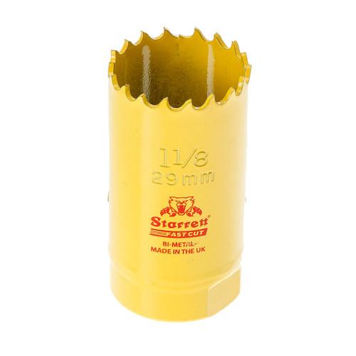 Starrett FCH0118 Bi-Metal Fast Cut Holesaw 1 1/8in / 29mm - 1