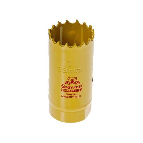 Starrett FCH0100 Bi-Metal Fast Cut Holesaw 1in / 25mm - 1