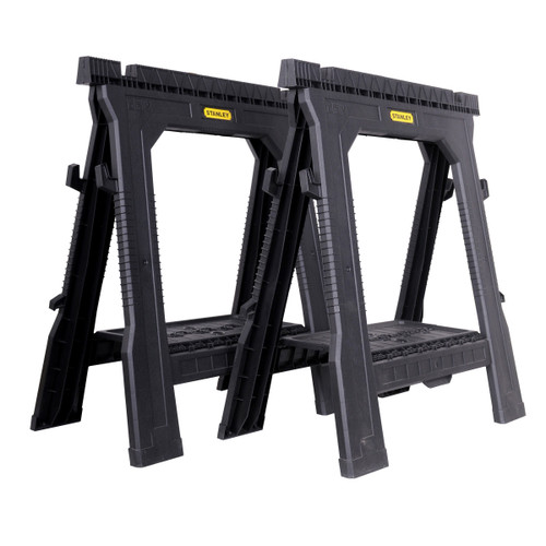 Stanley STST1-70713 Folding Sawhorse Twin Pack - 5