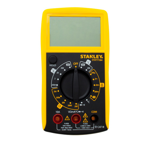Stanley STHT0-77364 Digital Multimeter DC / AC: 0 - 300V - 3